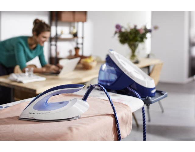 Powerful continuous steam for ultra faster ironing
