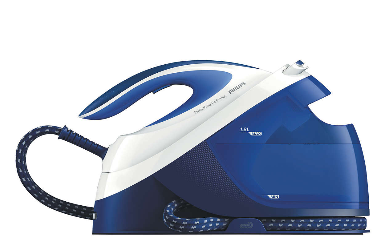 Powerful continuous steam for ultra-fast ironing