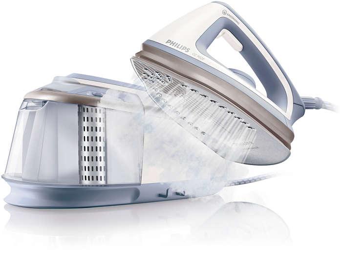 Ισχυρό σιδέρωμα χωρίς προβλήματα