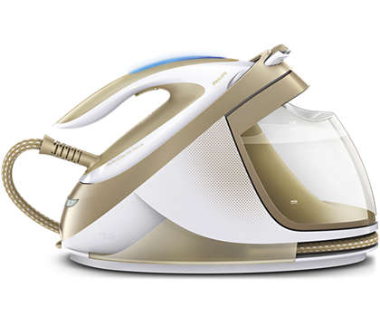 Most powerful steam for the fastest ironing*