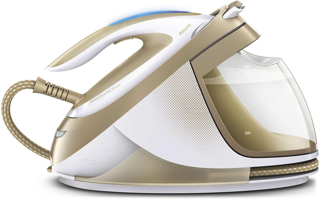 พลังไอน้ำที่ทรงพลังที่สุด เพื่อการรีดผ้าที่รวดเร็วที่สุด*