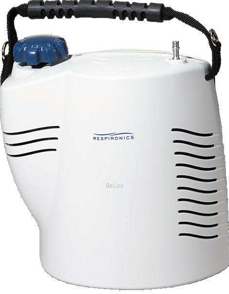 GoLox Portable liquid oxygen system