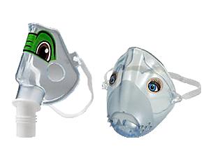 Maschera pediatrica Sidestream Compressori e nebulizzatori Monouso/riutilizzabili