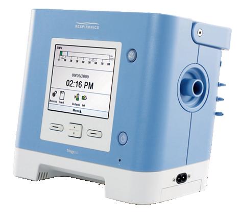 Trilogy 200 Portable ventilator