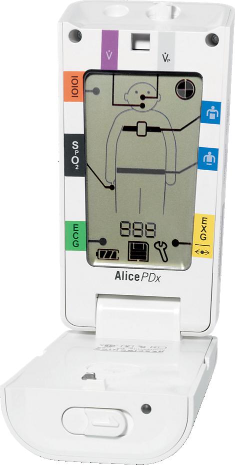 Alice Portable sleep diagnostic system