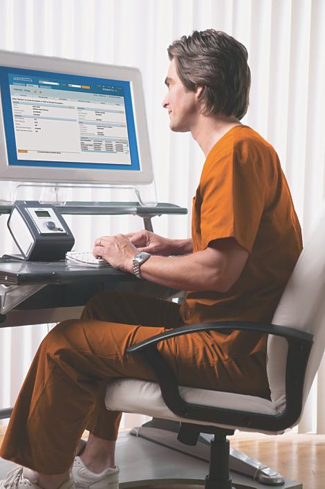 EncorePro 2 Software für das Therapiedaten-Management