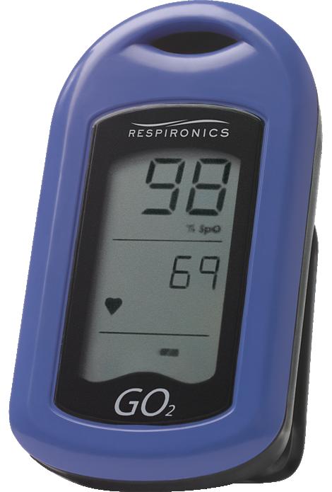 GO2 Oxygen saturation meter