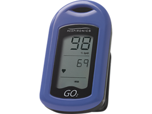 GO2 Oxygen saturation meter