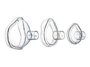 LiteTouch Máscara de cámara inhaladora con válvula (VHC) LiteTouch
