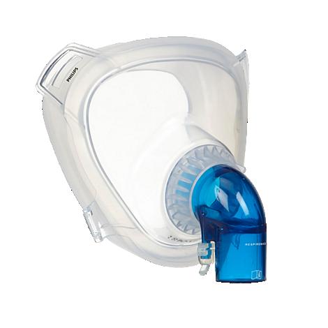 PerforMax Maske, einmal. Gebr. NIV-Maske