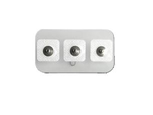 Neonatal/pediatric snap, square Electrode