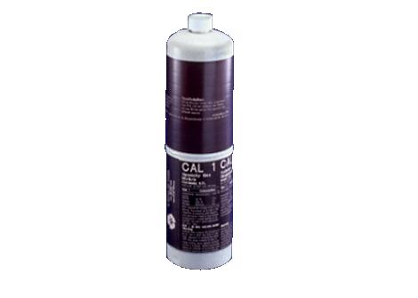 Bouteilles de gaz1 pour capteur de pO2tc/pCO2tc et de CO2fe Monitorage des gaz du sang par voie transcutanée