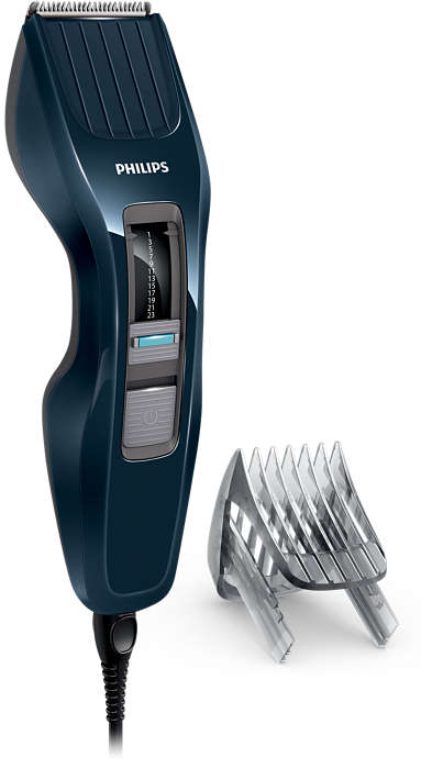 Máq. p/ cortar el cabello serie 3000: corta dos veces más rápido*