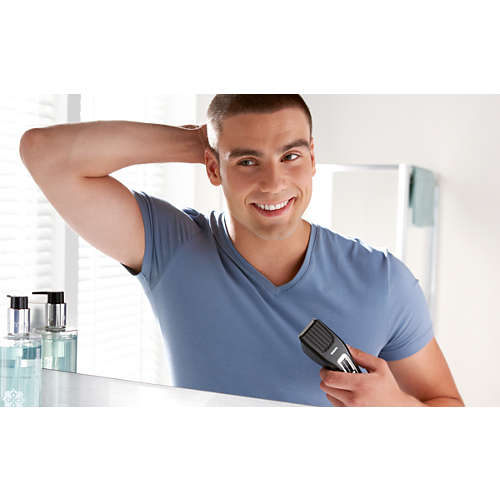 Hairclipper series 3000 Hair clipper with stainless steel blades