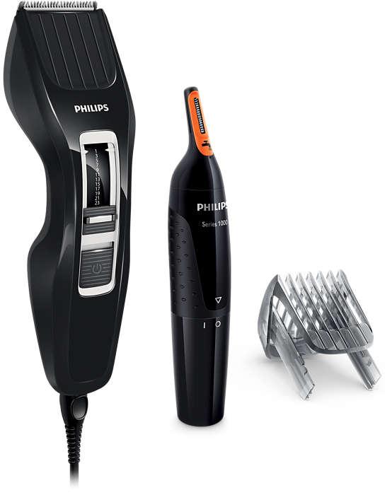 Tondeuse à cheveux série3000: coupe deux fois plus vite*