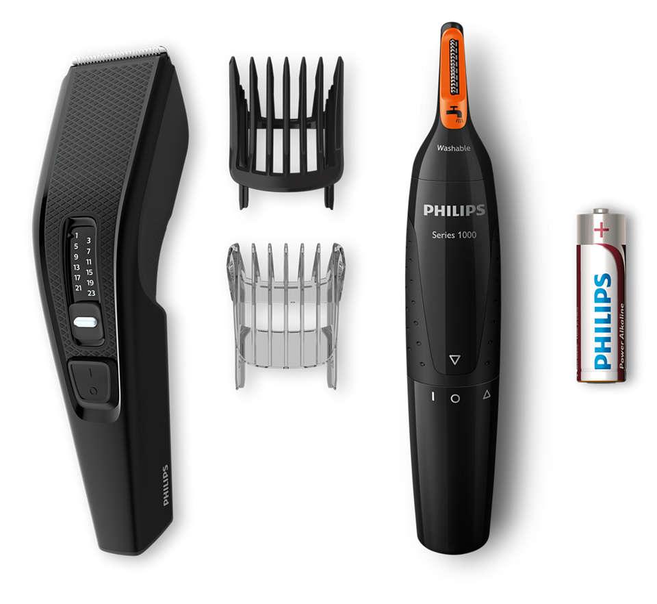 Eenvoudig, gelijkmatig trimmen