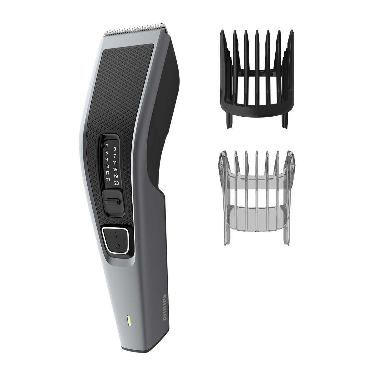Einfacher und gleichmäßiger Haarschnitt