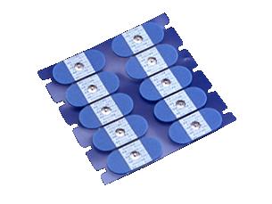 Einmal-Elektroden mit Schaumstoffhaftring Elektrode