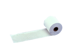 1-channel chemical/thermal chart paper Roll