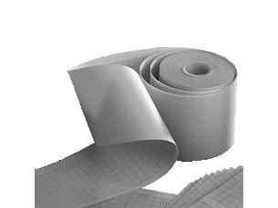 Chemothermisches 1 Kanal-Schreiberpapier 40mm breites graues Gitterraster Rolle