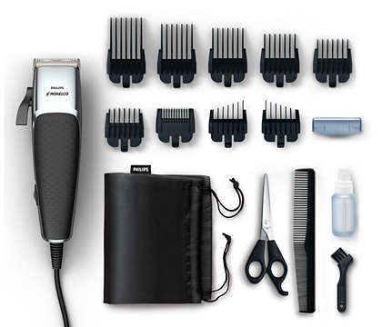 Hair and beard trimmer