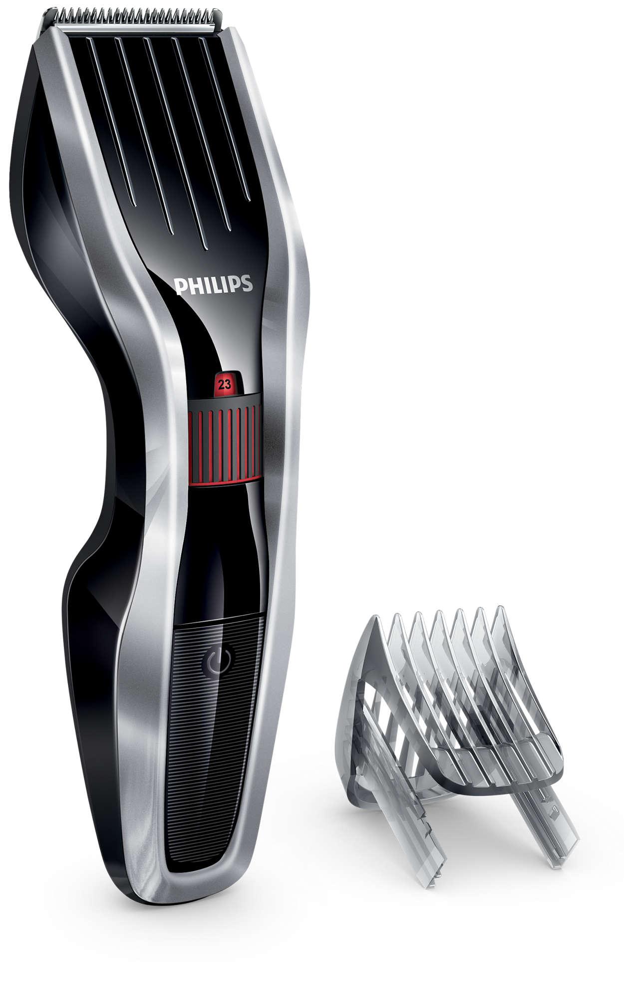 HAIRCLIPPER 5000-serien – klipper dobbelt så raskt*