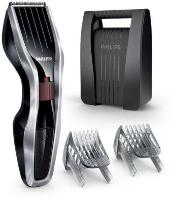 Køb Hårklipper med knive i rustfrit stål HC5440/80 online | Philips Shop