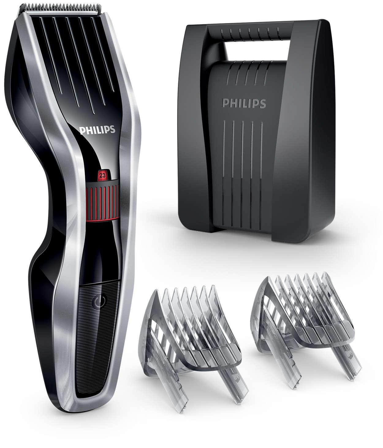 Máq. p/ cortar el cabello serie 5000: corta dos veces más rápido*