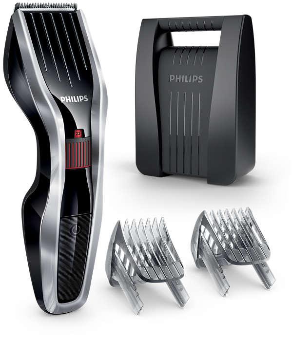 Máquina corta cabello serie 5000: corta dos veces más rápido*