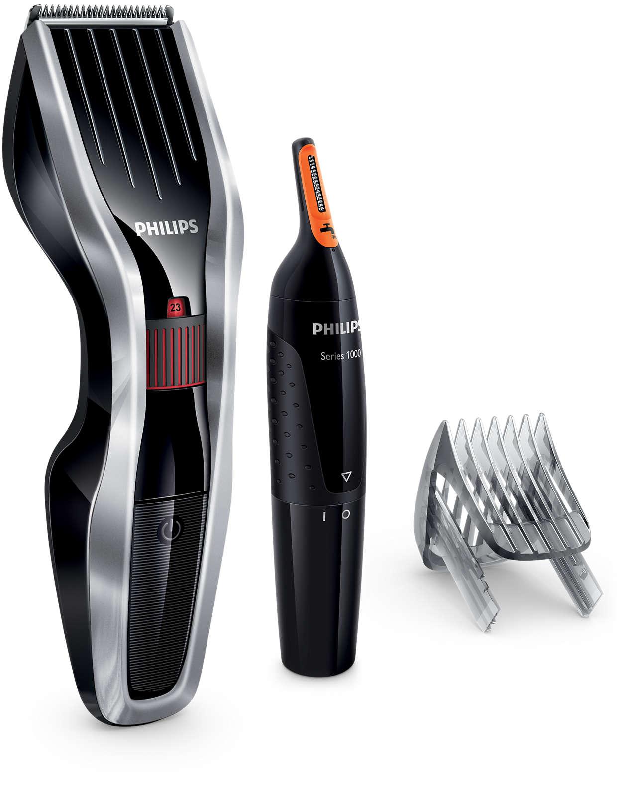 Tondeuse à cheveux série5000: coupe deux fois plus vite*
