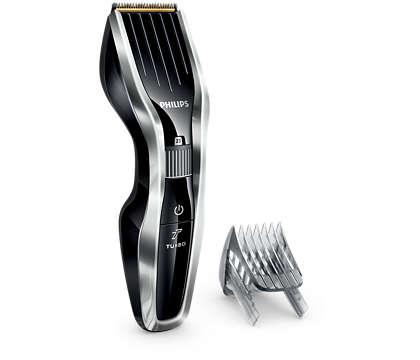 Máqui. para cortar cabello ser. 5000: corta dos veces más rápido*