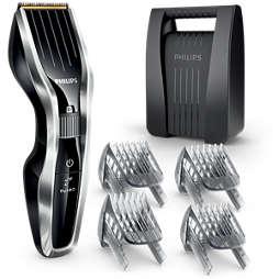 Hairclipper series 5000 Hair clipper with titanium blades & 4 combs
