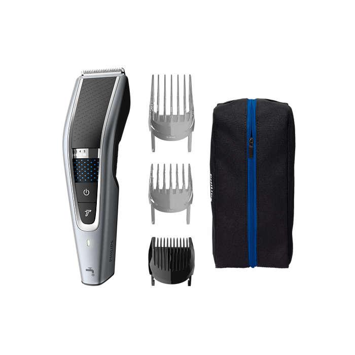 Schneller, gleichmäßiger Haarschnitt