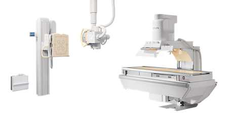 EasyDiagnost Digital Radiography/Fluoroscopy system