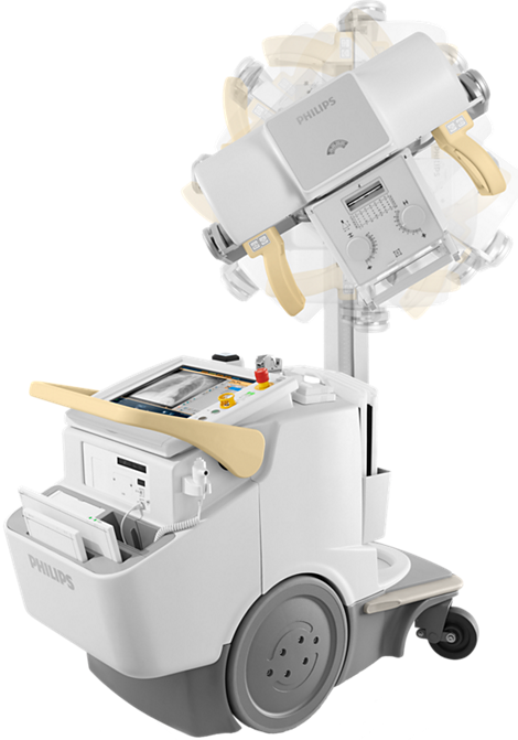 MobileDiagnost Mobiles und digitales Radiographiesystem