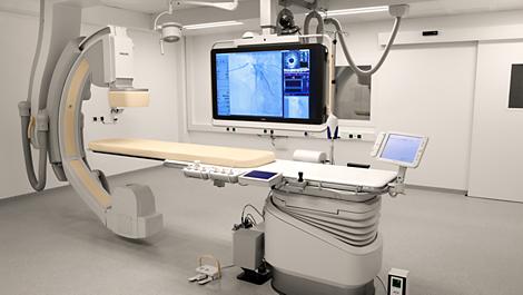 Allura Xper Salle de cardiologie interventionnelle