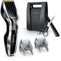 Haarschneider mit Titaniumklingen und DualCut-Technologie