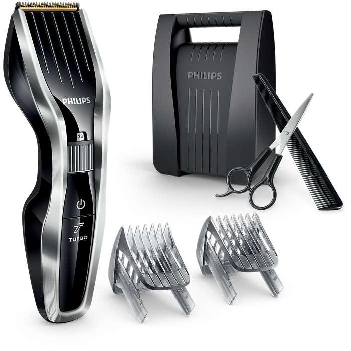 HAIRCLIPPER 7000-serien – klipper dobbelt så raskt*