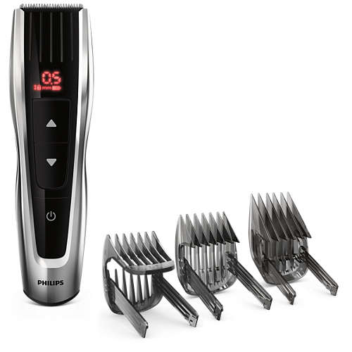 Hairclipper series 7000 Hair clipper with motorised combs