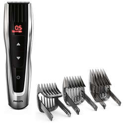 Hairclipper series 7000 Perfekt precision med total kontroll