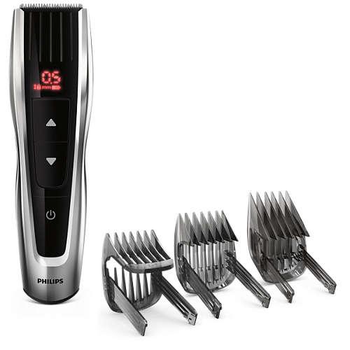 Hairclipper series 7000 Perfekt precision med total kontroll