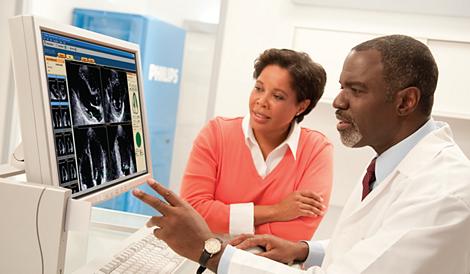 Q-Station Ultrasonido Cardiovascular Philips