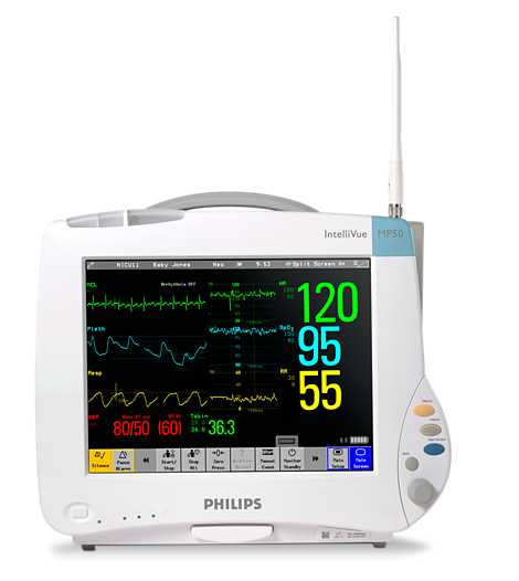 IntelliVue Bedside patient monitors