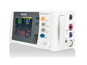 IntelliVue Measurement module and patient monitor