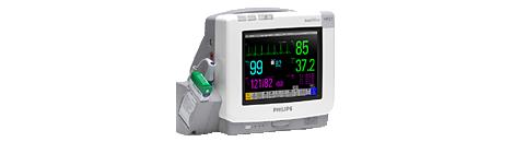 IntelliVue Telemetriesystem und Patientenmonitor