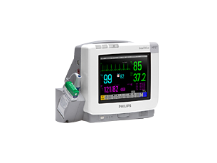 IntelliVue Telemetry system and patient monitor
