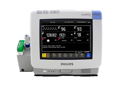 IntelliVue Monitor pacjenta do wyrywkowej kontroli stanu pacjenta