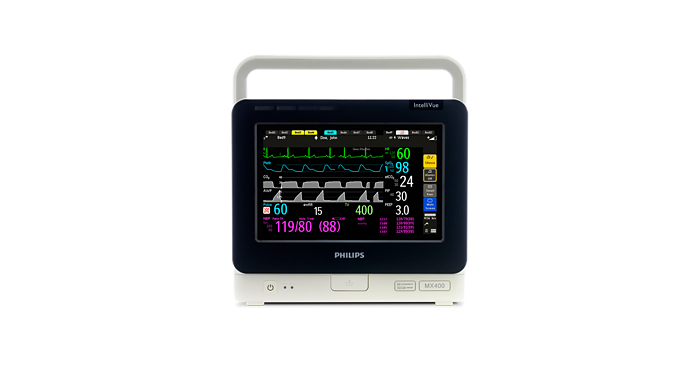 IntelliVue MX400 Portable/bedside patient monitor