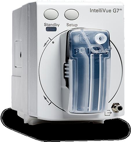 IntelliVue G7ᵐ Módulo de gas de anestesia