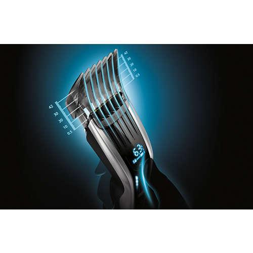 Hairclipper series 9000 Den smarta hårklipparen med digital touch screen